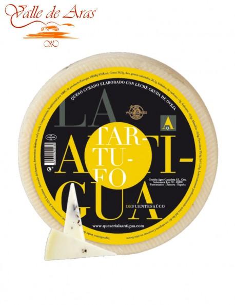 Queso de Oveja Curado La Antigua al Tartufo
