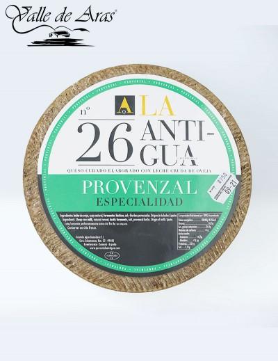 Queso curado Provenzal La Antigua