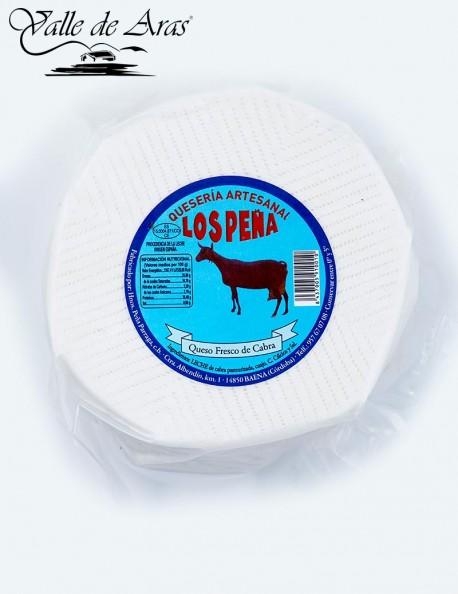 Queso mini fresco de cabra Los Peña