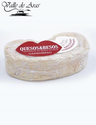 Camembeso cabra pasta blanda coagulación mixta Quesos&Besos