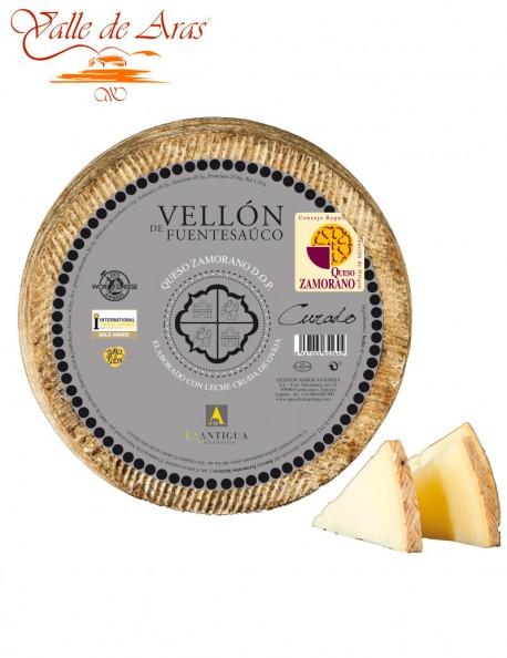 Queso de Oveja Vellón de Fuentesaúco Curado D.O. Zamorano