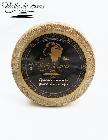 Queso Oveja Artesano Leche cruda Valle de Aras