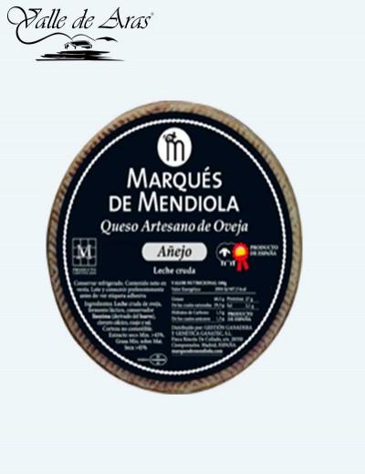 Queso Oveja Añejo Artesano Marqués de Mendiola