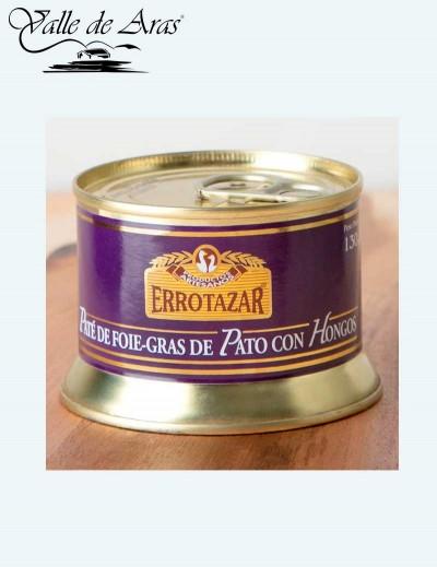 Pate Foie-gras con Hongos 130 gr. Errotazar