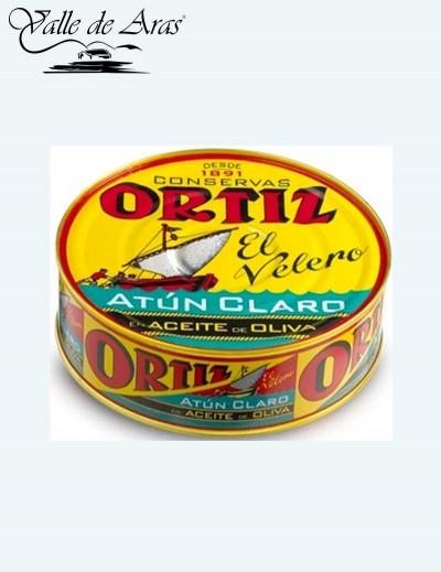 Atún Claro en Aceite de Oliva 600 gr. Ortiz