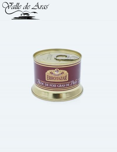 Bloc de Foie-Gras de Pato 130 gr. Errotazar