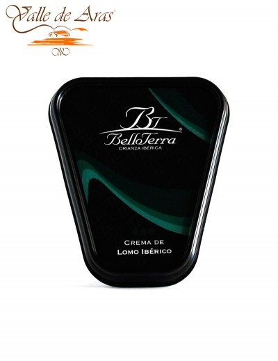 Crema de Lomo Ibérico Belloterra 180gr