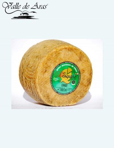 Queso Oveja Curado  L. Pasteurizada El Bosqueño