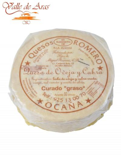 Queso de Oveja  Madurado en Aceite  Romero Ocaña