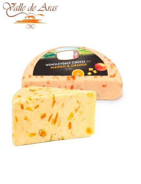 Queso de Mango y Naranja Wensleydale