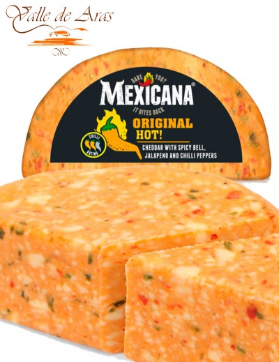 Queso Cheddar Mexicano Mexicana