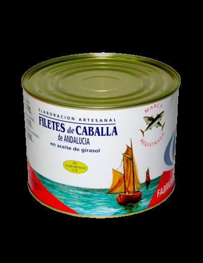 Filete Caballa Girasol...