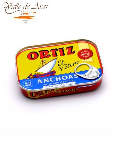Filetes de Anchoa en Aceite de Oliva Gran Selección Ortiz 78G