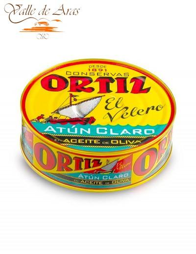 Atún Claro en Aceite de Oliva lata 250g Ortiz