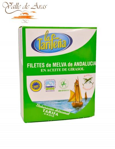 Filetes de Melva de Andalucía en Aceite de Girasol 320g La Tarifeña
