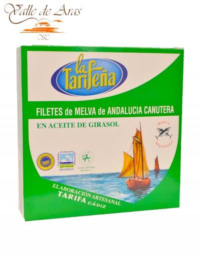 Filetes de Melva de Andalucía en Aceite de Girasol 525g La Tarifeña