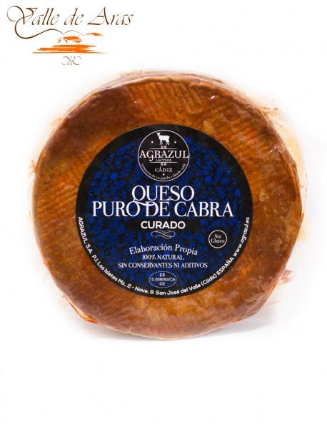 Queso Puro de Cabra Curado al Pimentón Agrazul 100% Natural Sin Gluten