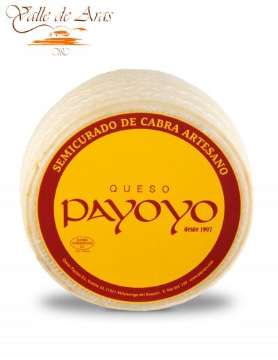 Queso de Cabra Payoyo Semicurado Artesano