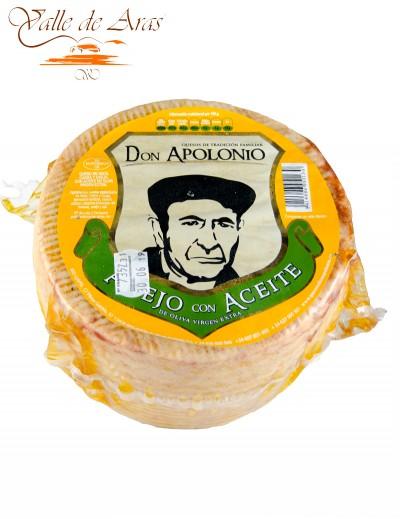 Queso de Oveja Añejo en Aceite de Oliva Virgen Extra Don Apolonio