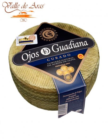 Queso de Oveja Curado D.O. Manchego Ojos del Guadiana