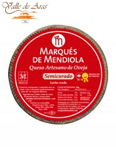 Queso de Oveja Artesano Semicurado Marqués de Mendiola