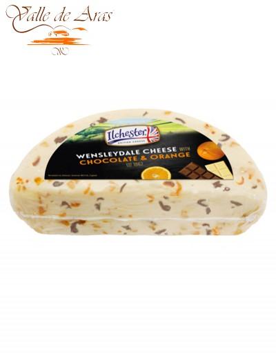 Queso de Chocolate y Naranja Wensleydale
