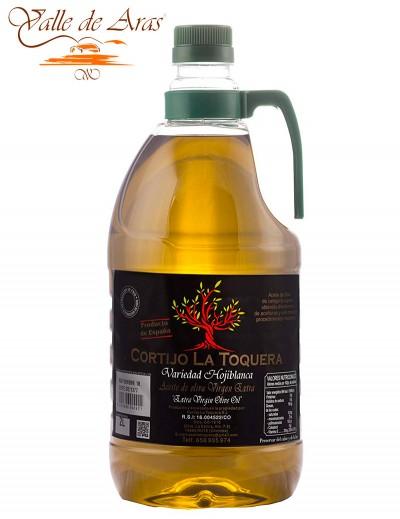 Aceite de Oliva Virgen Extra Variedad Hojiblanca Cortijo La Toquera AOVE