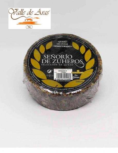 Queso de cabra Sierra de Zuheros con Pimenton o Romero 360 gr.