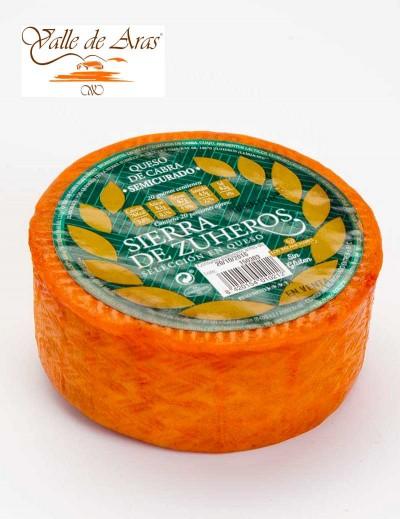 Queso de Cabra Sierra de Zuheros al pimenton 360 gr.
