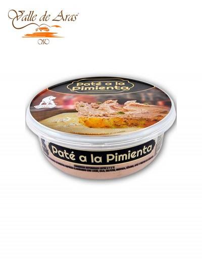 Pate a la Pimienta Carben 250 gr.
