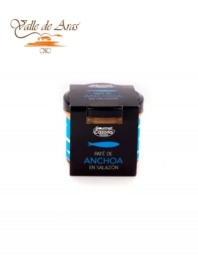 Pate de Anchoa en Salazón Gourmet Cazorla Premium 110 gr.