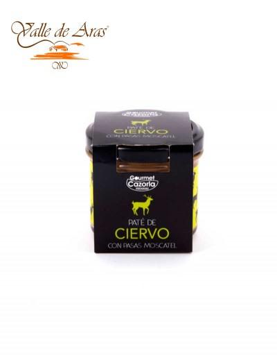Pate de Ciervo con Pasas Moscatel Gourmet Cazorla Premium 110 gr.
