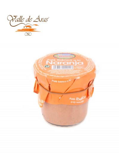 Pate Ibérico a la Naranja 100 gr. Cazorla