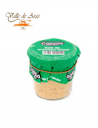 Pate de Aceitunas Verdes 100 gr. Cazorla