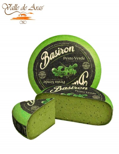 Queso Gouda Pesto Verde