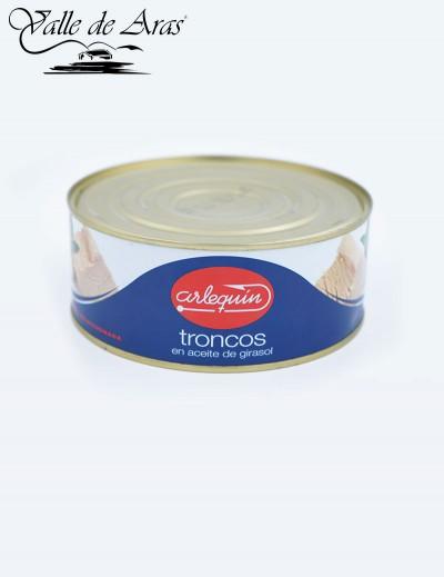 Troncos en Aceite de Girasol 900 gr. Arlequin