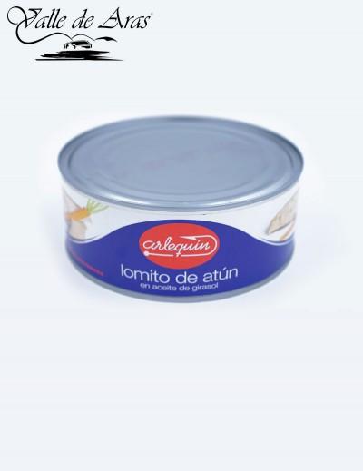 Lomito de Atún en Aceite de Girasol 900 gr. Arlequin