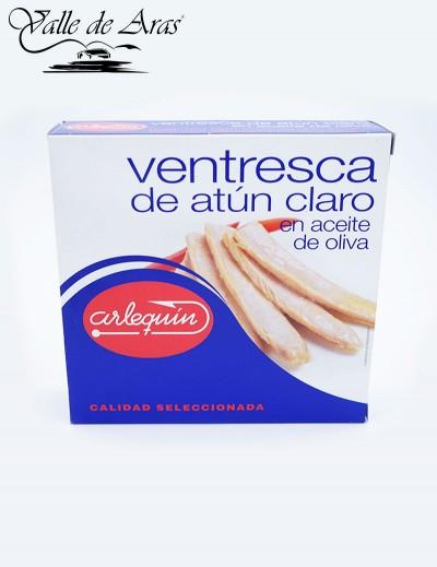 Ventresca de atun claro en Aceite de Oliva 500 gr. Arlequin