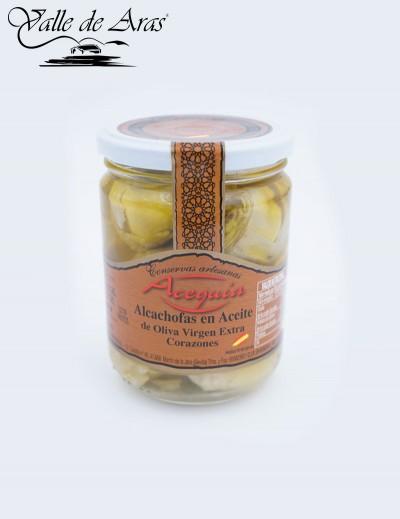 Alcachofas en Aceite de oliva Acequia