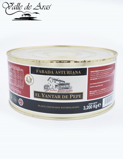 Fabada Asturia El Yantar de Pepe 3,200 kg.