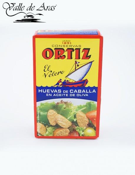Huevas de Caballa en Aceite de Oliva 110g Ortiz