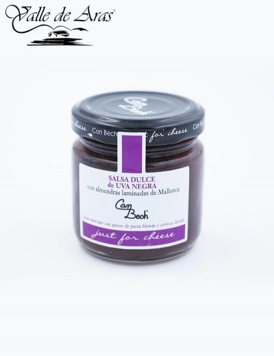 Mermelada dulce de uva negra Can Bech